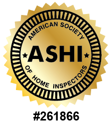 Certified Inspector with the American Society of Home Inspectors